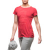 Houdini W's Rock Steady Message Tee Khalo Red